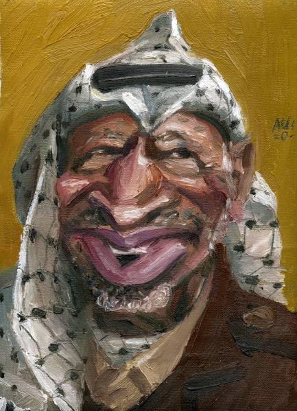 6 karikatuur Arafat