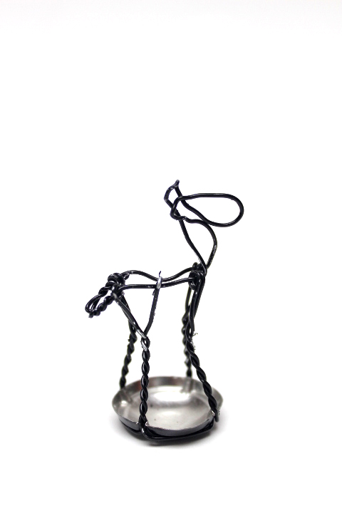 1 paardje